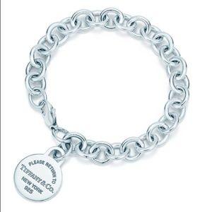 Tiffany & Co Oval Link Tag Bracelet
